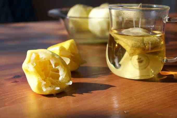 Chamomile and Lemon Baked Apples. Wholefoodbellies.com