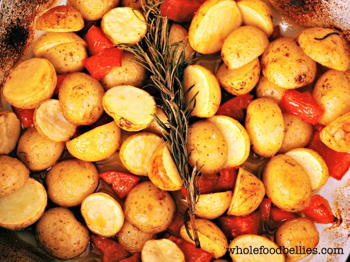Maple roasted small potatoes @wholefoodbellies.com