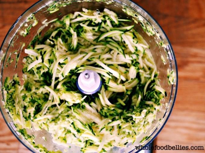Zucchini and Quinoa Popper
