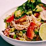 Quick Coconut Peanut Noodle Salad