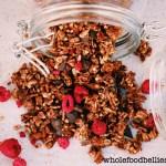 Raspberry Dark Choc Chunk Granola