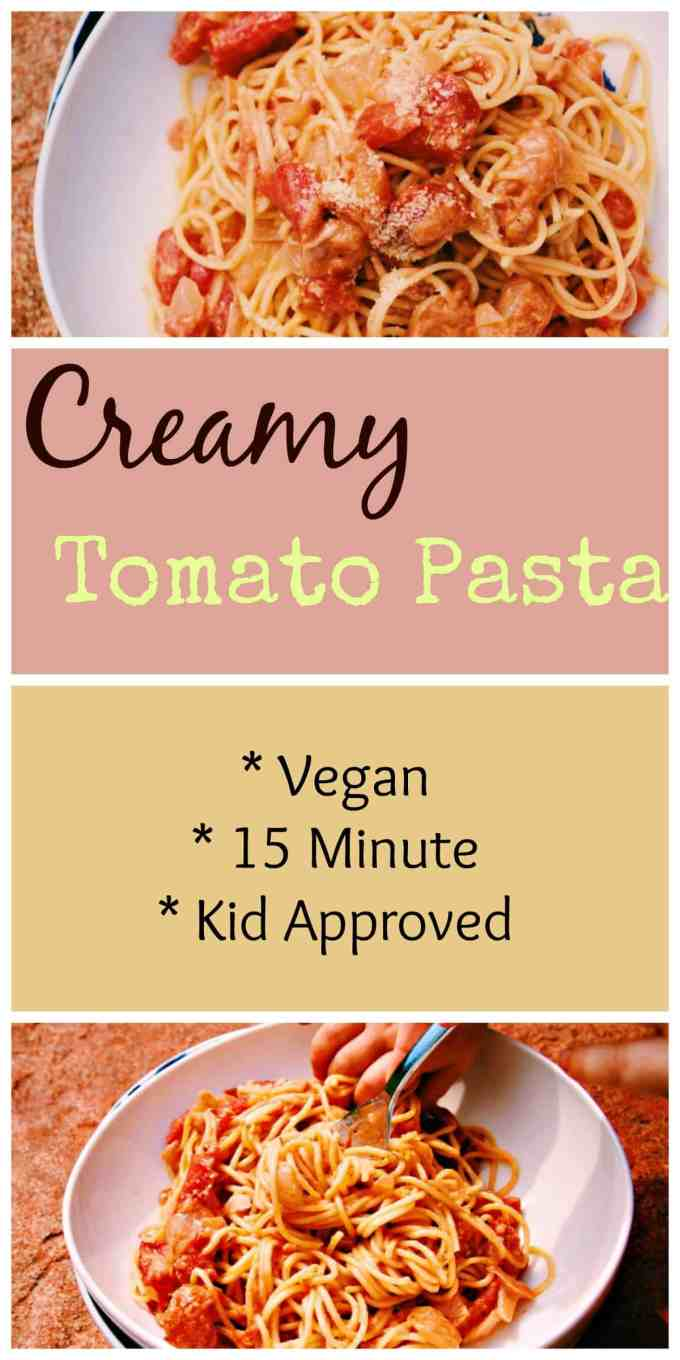 A staple to have in your house on those nights when you need dinner on the table in 20 minutes. Creamy and delicious and perfect for big and little ones alike