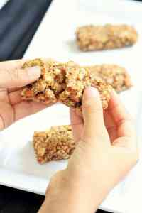 Homemade Chewy Granola Bar