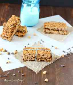 Peanut Butter Choc Chip Granola Bar