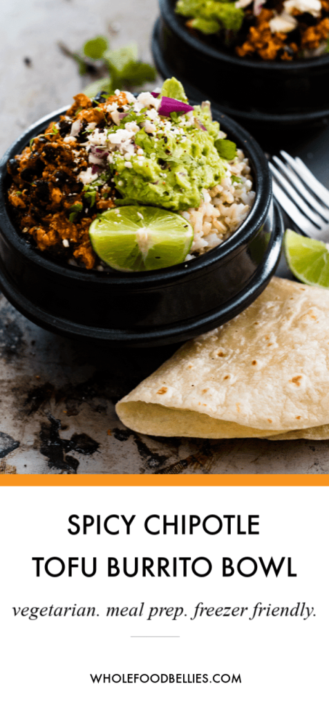 Spicy chipotle burrito bowl