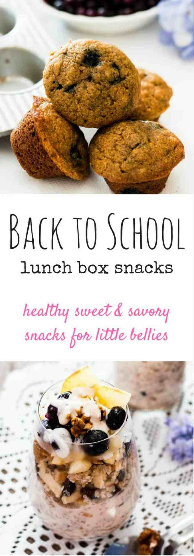 Back to School Snacks. From scratch snacks to satisfy little bellies after a busy day at school