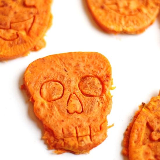 Healthy Halloween Treats: root veggie cookies