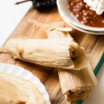 Potato Adobo Vegan Tamales (including pressure cooker instructions)