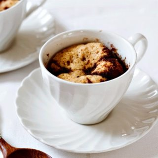 Coffee Cake Mug Cake and Book Review
