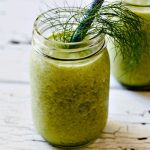 Fennel Frond and Pineapple Smoothie