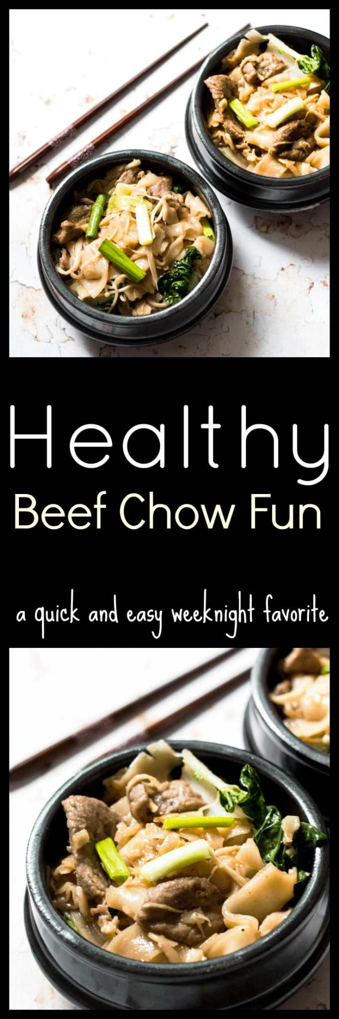 This Quick Beef Chow Fun Recipe made right in the Wok is a favorite Cantonese noodle dish which combines stir-fried flat rice noodles with crisp fresh bean sprouts and slices of beef with sweet and salty seasoning. The noodles are fried quickly in a very hot wok over high heat, giving the dish that wok hei (breath of the wok) essence.