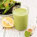 Light and Creamy Green Tea Salad Dressing