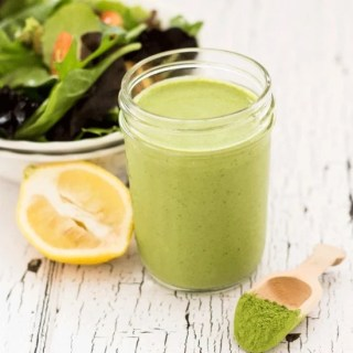 Light and Creamy Green Tea Salad Dressing