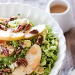 Miso Brussels Sprouts and Apple Salad