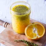 Whole Orange and Thyme Vinaigrette