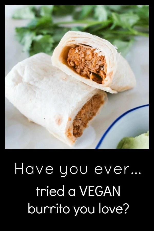I Tried a Vegan Burrito (and I liked it)! #veganburrito #whatveganseat #alphaburritos #ad