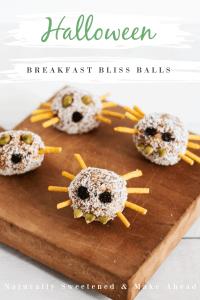 Halloween Breakfast Balls