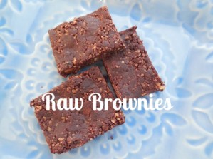 I Made Organic, Vegan, Paleo, Gluten Free, Dairy Free, Raw Brownies!
