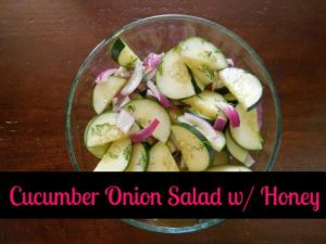 Take This Organic Cucumber Salad To Your Next Potluck