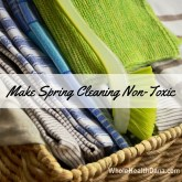 Make Spring Cleaning Non Toxic All Natural DIY