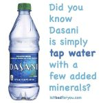 Most bottled water is a big fat scam to makehellip