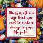 Illness is your body telling you that something is wronghellip