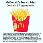 So if I were making french fries at home theyhellip