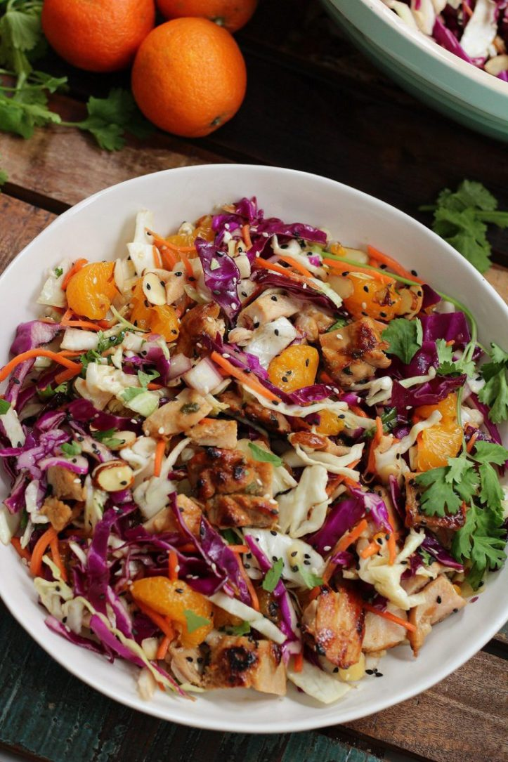sesame chicken chopped salad
