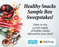 Healthy Snacks Sample Box Summer Sweepstakes