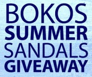Bokos Summer Sandals Giveaway
