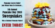 National Pancake Day Sweepstakes