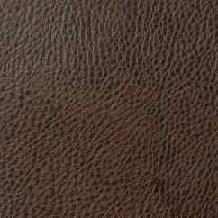 Faux Leather Chair And A Half Antique Chairs Grained Fabric - Pecan Brown
