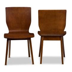 Bentwood Dining Chair Unusual High Back Wholesale Chairs Room Furniture Baxton Studio Elsa Mid Century Modern Scandinavian Style Dark Walnut Bent Wood