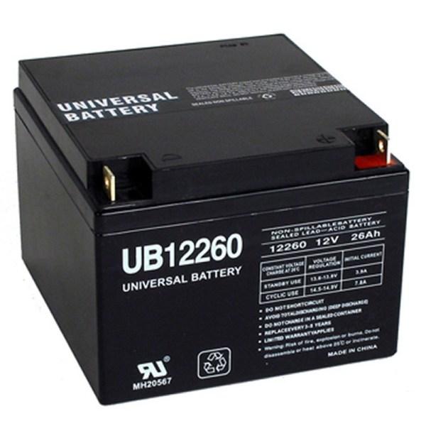 Volt 26 Ah Ups Backup Battery Replaces Interstate Dcm0026