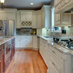 Natural Maple Kitchen Cabinets Small Cabinet Ideas Cream Glaze