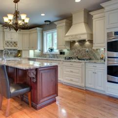 Glass Door Kitchen Cabinet Aristokraft Cabinets Cream Maple Glaze