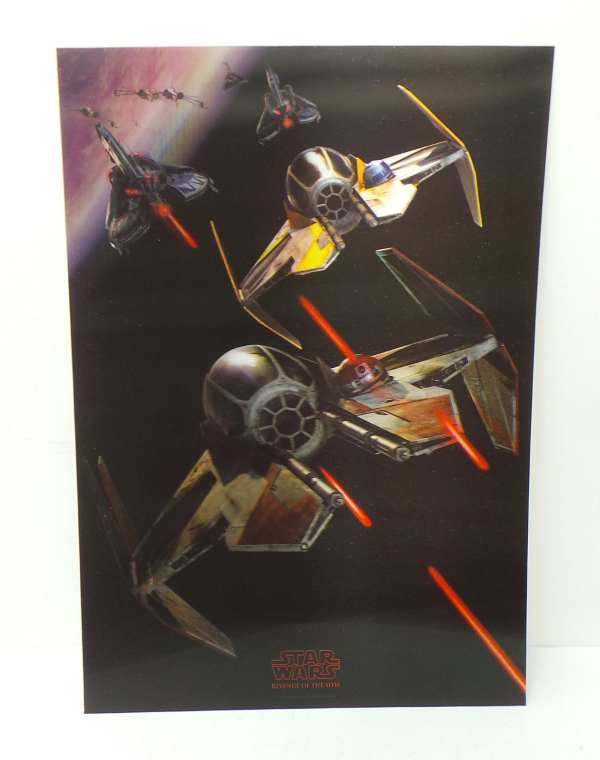Joblot Of 20 Star Wars Limited Edition 3d Lithographic Art