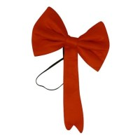Red Crazy Cat Bow Tie