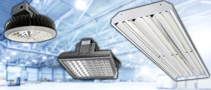Industrial Lighting Fixtures  High Bays Warehouse