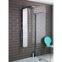 Hudson Reed Shimmer Thermostatic Shower Panel - AS345