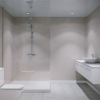 Multipanel Classic Beige Eiger Unlipped Bathroom Wall Panel