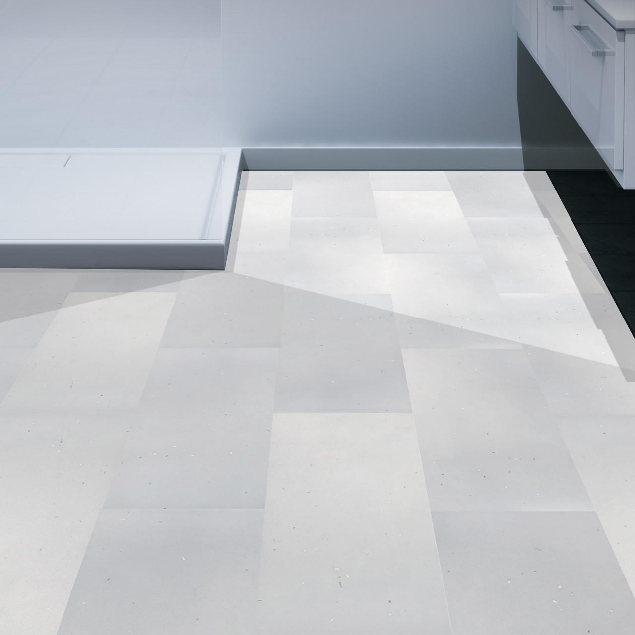 Multipanel Click Premier Floor White Diamond 607mm x 303mm