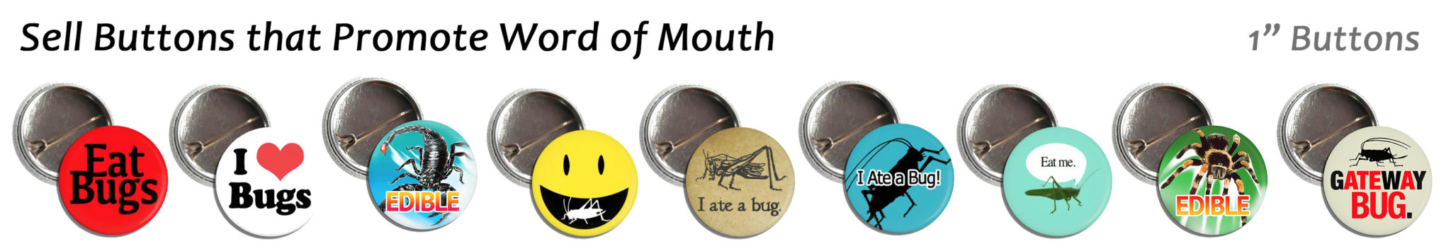 Wholesale Bug Buttons