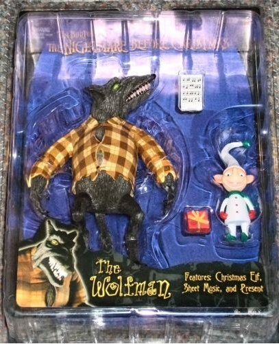 Nightmare Before Christmas Wolfman Action Figure Hills