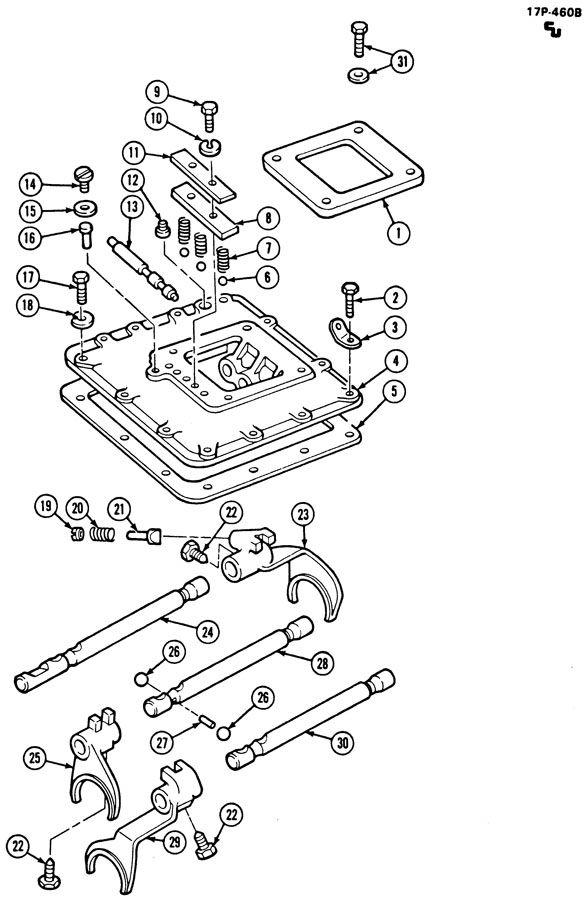 2000 GMC C6500 Plug. Back up lamp. Case. Speedometer