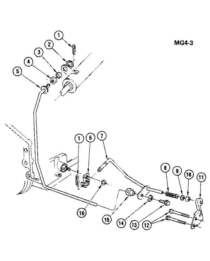 Chevrolet Monte Carlo Lever. Transmission control