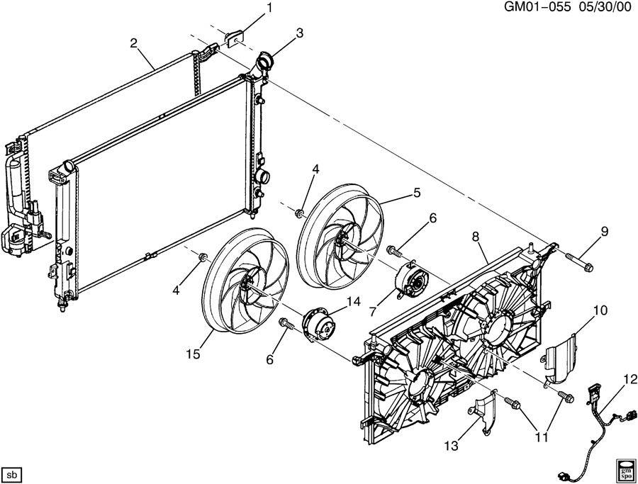2002 Chevrolet Clip; nut; retainer. Nutac, nutairbag