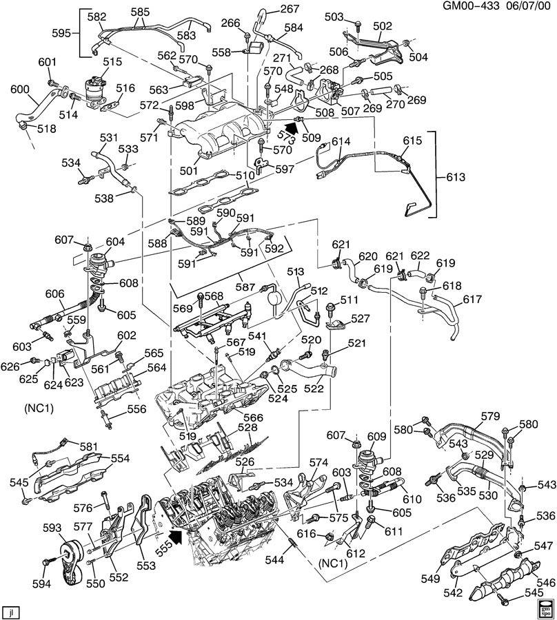 Wiring Diagram PDF: 2003 Buick 3 1 Engine Diagram