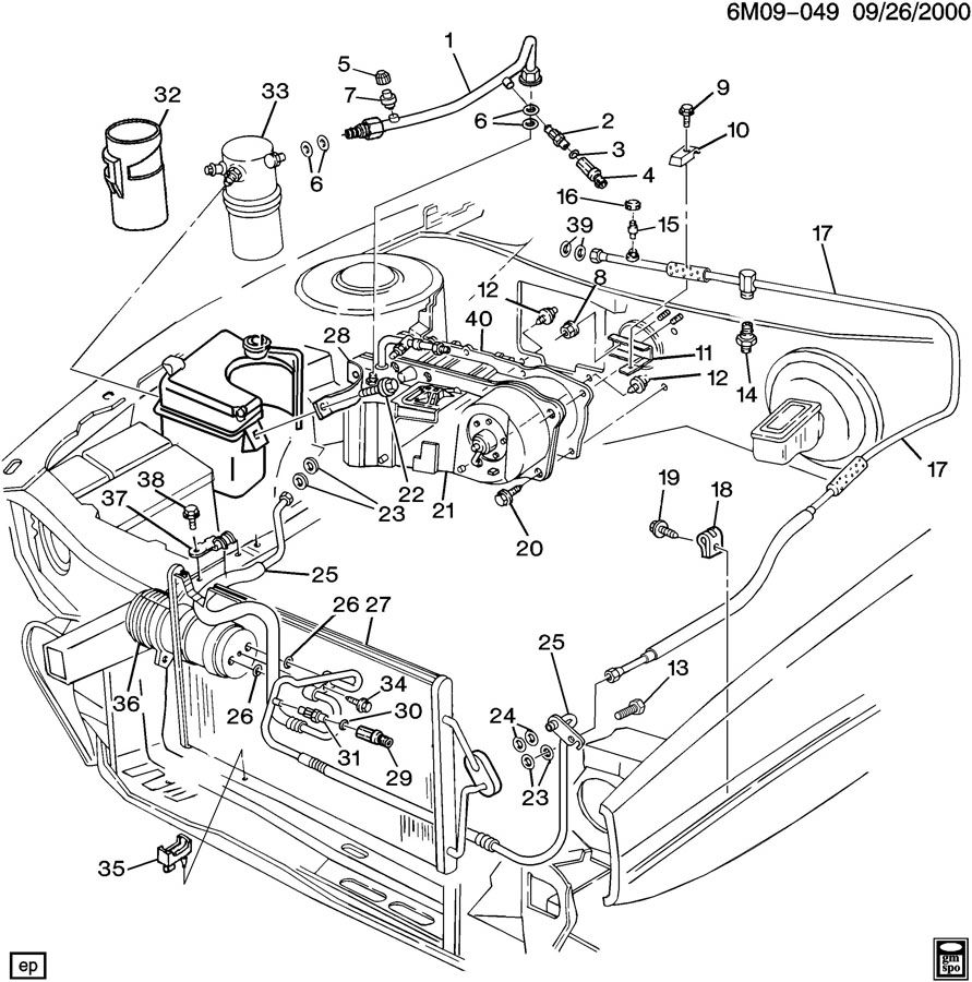 Wiring Diagram Database: 1999 Cadillac Deville Cooling