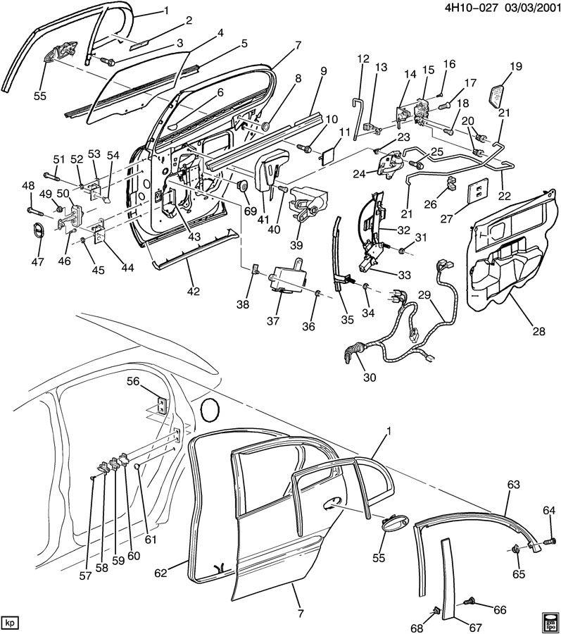 2000 Buick Lesabre Module. Door electric and vacuum locks